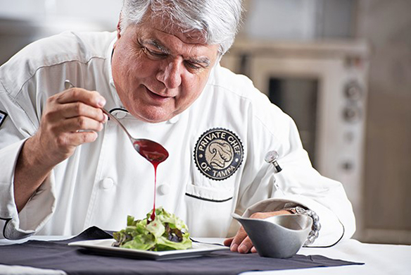 Chef Peter Gambacorta, Culinary Artist