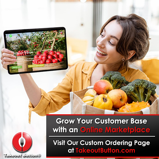 Custom ordering application - online marketplace - e-commerce solutions